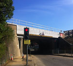 Concrete Bridge Beams For Network Rail at Molesey Road, Surrey, London.