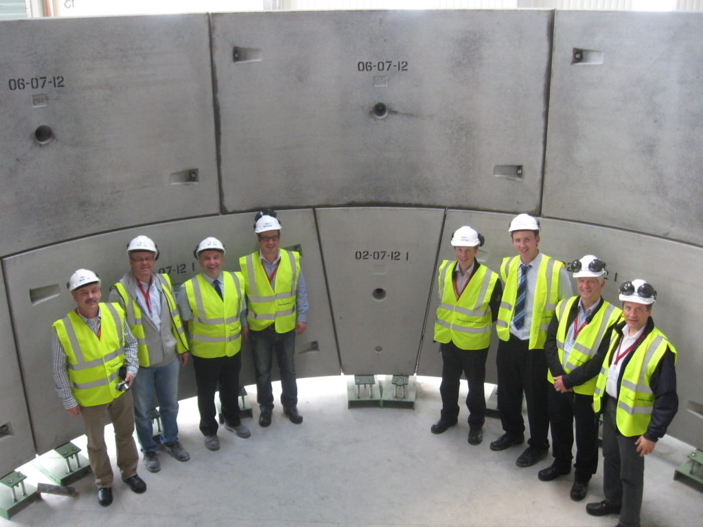 Tunnel Segments for C310 Thames Tunnel