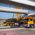 Concrete Bridge Beams for Cross Rail's Pudding Mill Lane | Shay Murtagh Precast