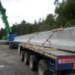 Concrete Bridge Beams for Cray Bridge Construction | Shay Murtagh Precast