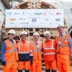 Breakthrough at C310 Thames Tunnel Crossrail | Shay Murtagh Precast
