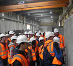 Waterford IT Students visit Shay Murtagh Precast Concrete Facility