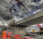 Shay Murtagh Precast Bridge Beams at Reading Viaduct