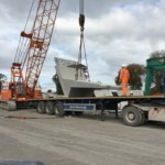 Bridge Beams for Beresford Road Bridge in Cardiff | Shay Murtagh Precast