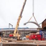 Bridge beams and cill units for the Ordsall Chord works Northern Hub | Shay Murtagh Precast