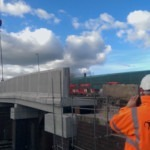 Hungerford Road Bridge – Opens 3 weeks ahead of schedule | Shay Murtagh Precast