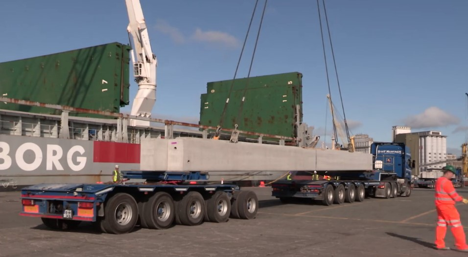 Shay Murtagh Precast Complete Canadian Contract with