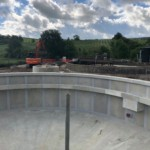 Final Settlement Tank Structure For Earby WwTW | Shay Murtagh Precast