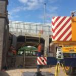 Portal frame units, cill beams and base units for the Cambridge Depot of theThameslink Portal | Shay Murtagh Precast